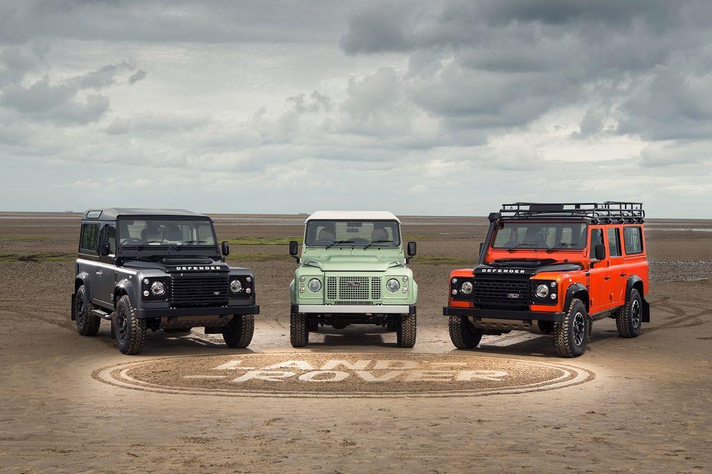 Land Rover Defender ends production